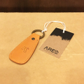 AREth keychain shoe hone keying NATURAL