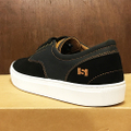 state shoe pacifica cup BLACK/WHITE suede