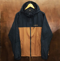 theories jacket stamp sprinter NAVY/SADDLE