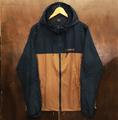 theories jacket stamp sprinter NAVY/SADDLE