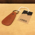AREth keychain shoe hone keying BROWN