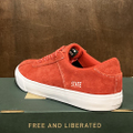 state shoe leland RED/WHITE suede