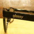 glassy sunglass leonard BLACK/CLEAR.LENS