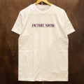 PICTURE SHOW tee VHS WHITE