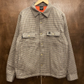 theories shirts jacket lantern CRAY/ORANGE.CHECK