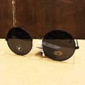 glassy sunglass jaws BLACK POLARIZED