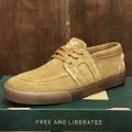 state shoe vista × matt rodriguez BROWN/GUM suede