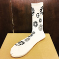 GUYDANCE socks sun WHITE