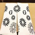 GUYDANCE socks sun WHITE