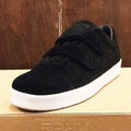 AREth shoe I velcro BLACK 17FW