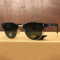 glassy sunglass morrison BLACK/GOLD/GREEN POLARIZED