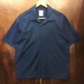 remilla s/s shirts スモークシャツ WORK.BLU