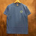 satori cotton tee small link BLUE