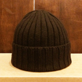 remilla beanie rib knit 帽 DK.BRN