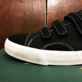 state shoe harlem BLACK/WHITE STRAPPED