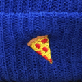 PIZZA beanie emoji ROYAL