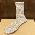 AREth socks middle sox JAHI logo HEATHER.GRAY