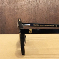glassy sunglass swift plus BLACK/GOLD POLARIZED