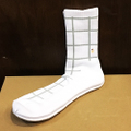 GUYDANCE socks window WHITE