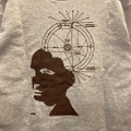 KAONKA light weight crewneck agartha MK.GRAY/WINE