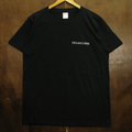 hulahoopers tee circle logo BLACK