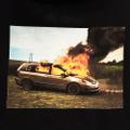 WKND pullover hood van on fire BLACK