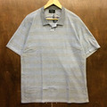 remilla polo shirts ボーダーポロ BLU.GRY