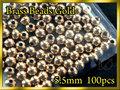 ブラス ビーズ Gold 100個セット Brass Beads 5.5mm