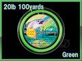 【イオ】 フライ用 バッキングライン 100yard 緑色 green 20lbs