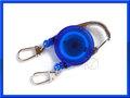 ピンオンリール 2本掛け 青 blue 2Way type