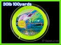 フライ用 バッキングライン 100yards イエロー 30lbs
