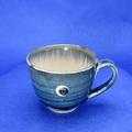 藍染マグカップ 信楽焼