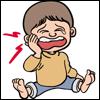 歯痛のイラスト01