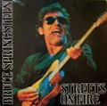 BRUCE SPRINGSTEEN / STREETS ON FIRE カラー・レコード2枚組