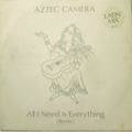 AZTEC CAMERA / All I Need Is Everything 12""