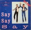 "PAUL McCARTNEY & MICHAEL JACKSON / Say Say Say 12"" ドイツ盤"