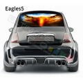 グラフィック デカール ステッカー 車体用 / フィアット 500 2020 / リアウィンドウ イーグルスデザイン