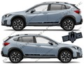 グラフィック デカール ステッカー 車体用 / スバル XV / カスタム ストライプ・ステッカー