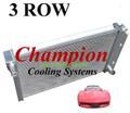78-83 コルベット C3 Champion 3層 アルミ ラジエター    CC718