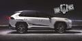 グラフィック デカール ステッカー 車体用 / トヨタ RAV4 / ストライプ・ステッカー