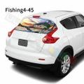 グラフィック デカール ステッカー 車体用 / 日産 ジューク 2020 / リアウィンドウ フィッシングデザイン