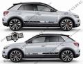 グラフィック デカール ステッカー 車体用 / フォルクスワーゲン T-ROC / ストライプ グラフィック・ステッカー