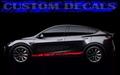 グラフィック デカール ステッカー 車体用 / テスラ モデル3 モデルX モデルY モデルS / イーグル・ステッカー