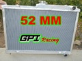 日産 スカイライン R33  GT-R GPI オールアルミラジエター GPI 52MM Aluminum Radiator for Nissan Skyline R33 R34 GTR GTST RB25DET Manual