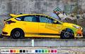 グラフィック デカール ステッカー 車体用 / フォード フォーカス RS 2012 2013 2014 2015 2016 2017 2018 / ストライプステッカー