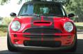 ミニクーパーS 01-06年式 バイパー 黒ストライプステッカー Mini Cooper S 01-06 Viper Black Sticker 【特価在庫セール品】