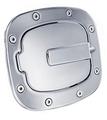 トヨタ FJクルーザー 07-13  /  All Sales ビレット ポリッシュ 燃料ドア