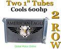 69-72 コルベット C3 American Eagle 2層 アルミ ラジエター   AE1655