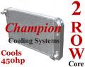 78-83 コルベット C3 Champion 2層 アルミ ラジエター  EC718