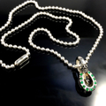BALL CHAIN [HORSESHOE : C] w/EMERALD